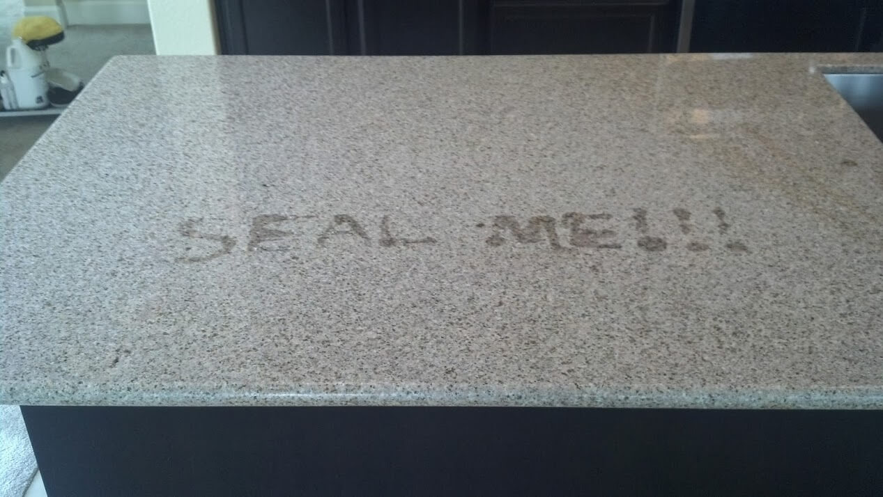 Granite Sealing